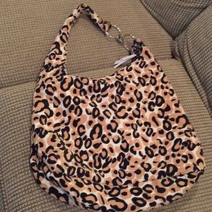 Top shop zambia leopard print bag.